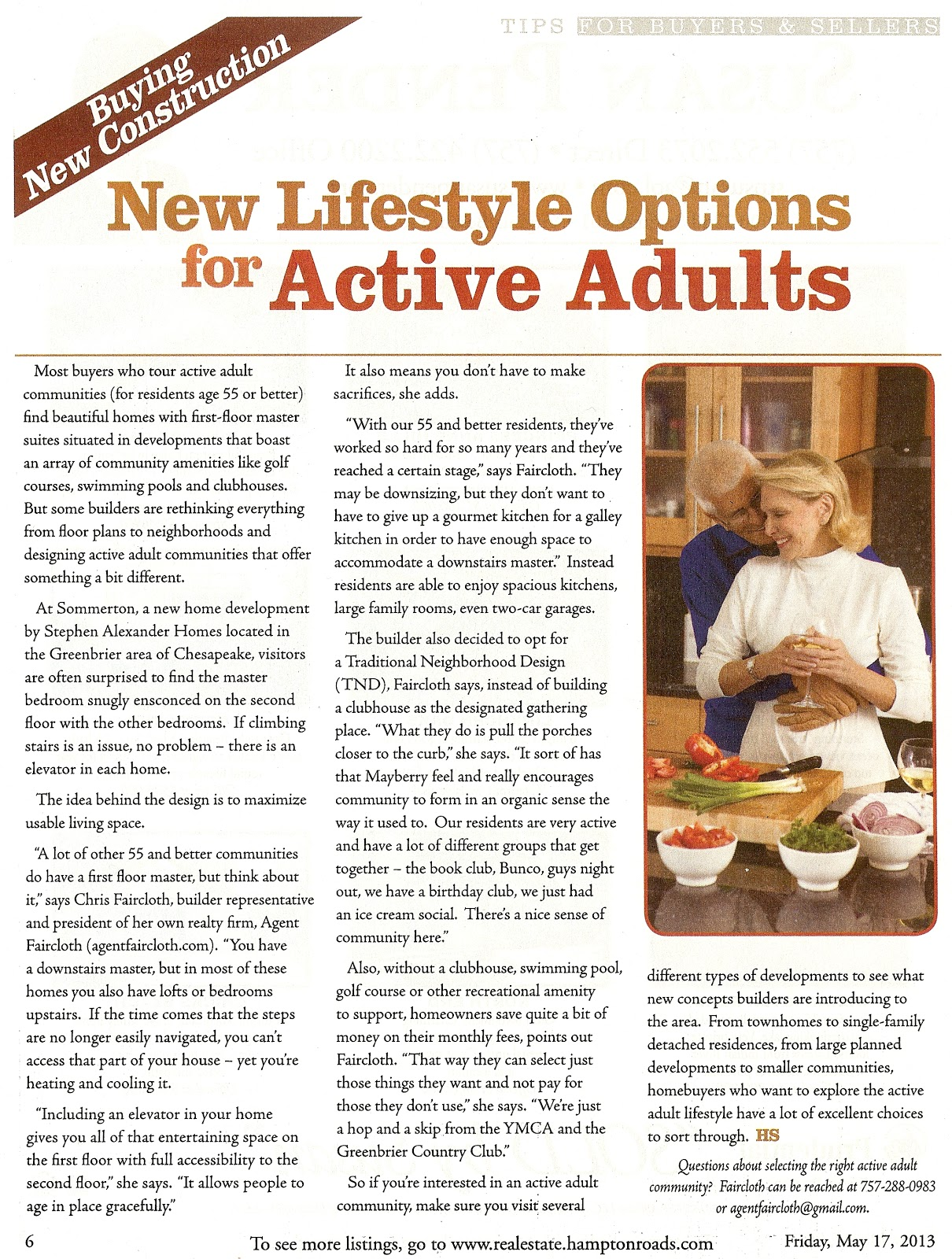 active adult lifestyles